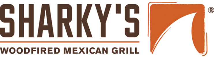 Sharky's-Woodfired-Mexican-Grill-franchise-logo---California-franhise-lawyers-Rodney-R-Hatter-&-Associates